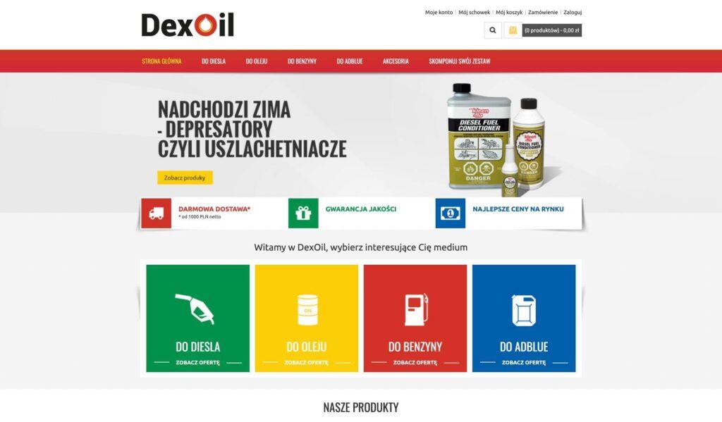 Dexoil.pl sprzed do dystrybucji paliwa