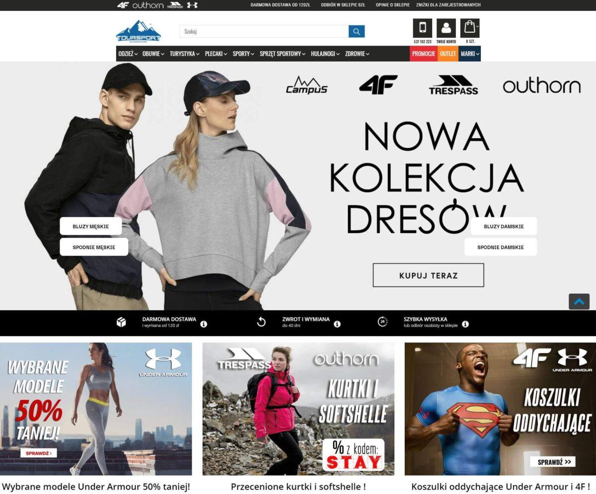 Toursport.pl - sklep online ze sprzętem sportowym