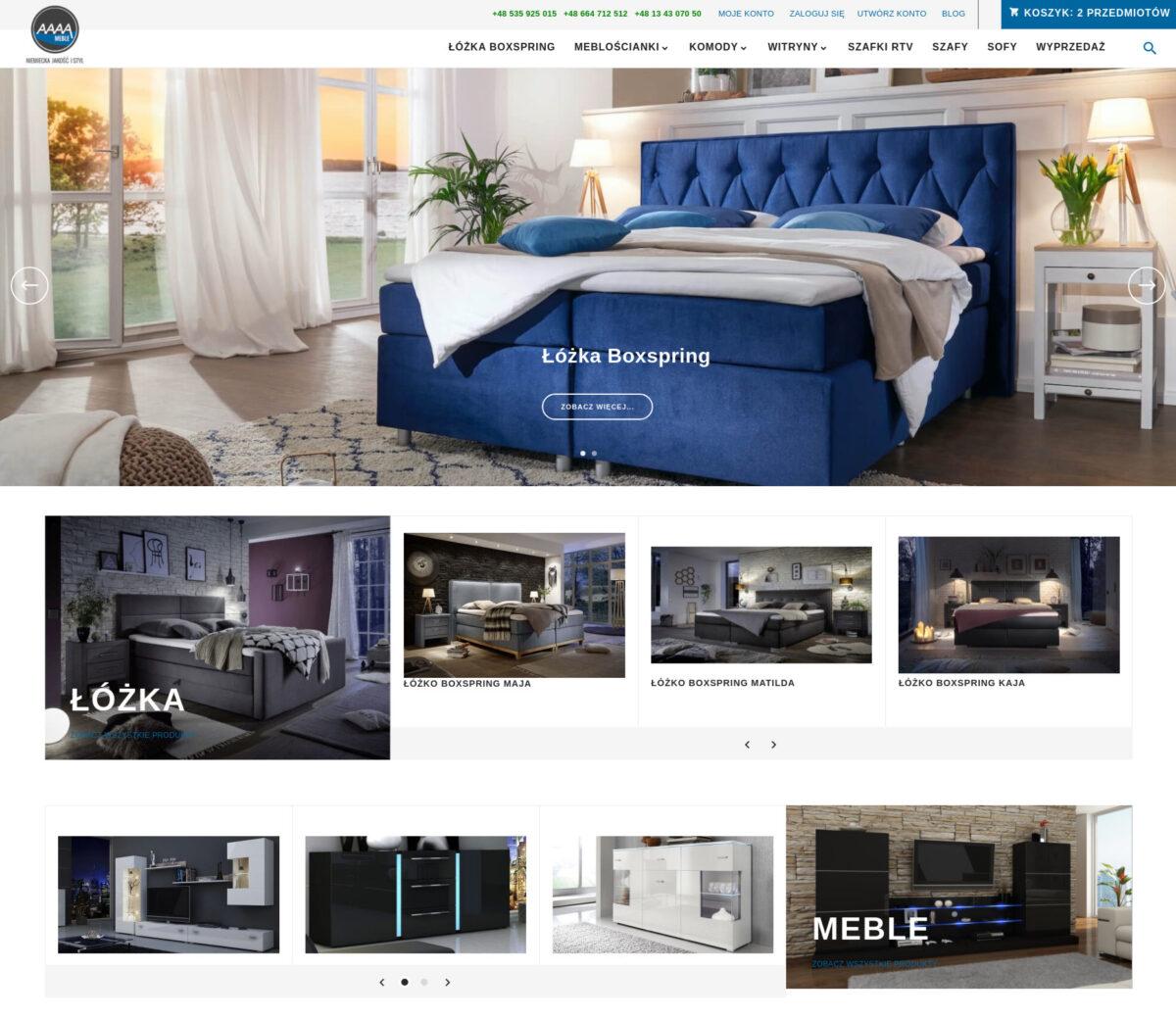 aaaameble.pl - łóżka boxspring, to najwyższej jakości łózka do sypialni