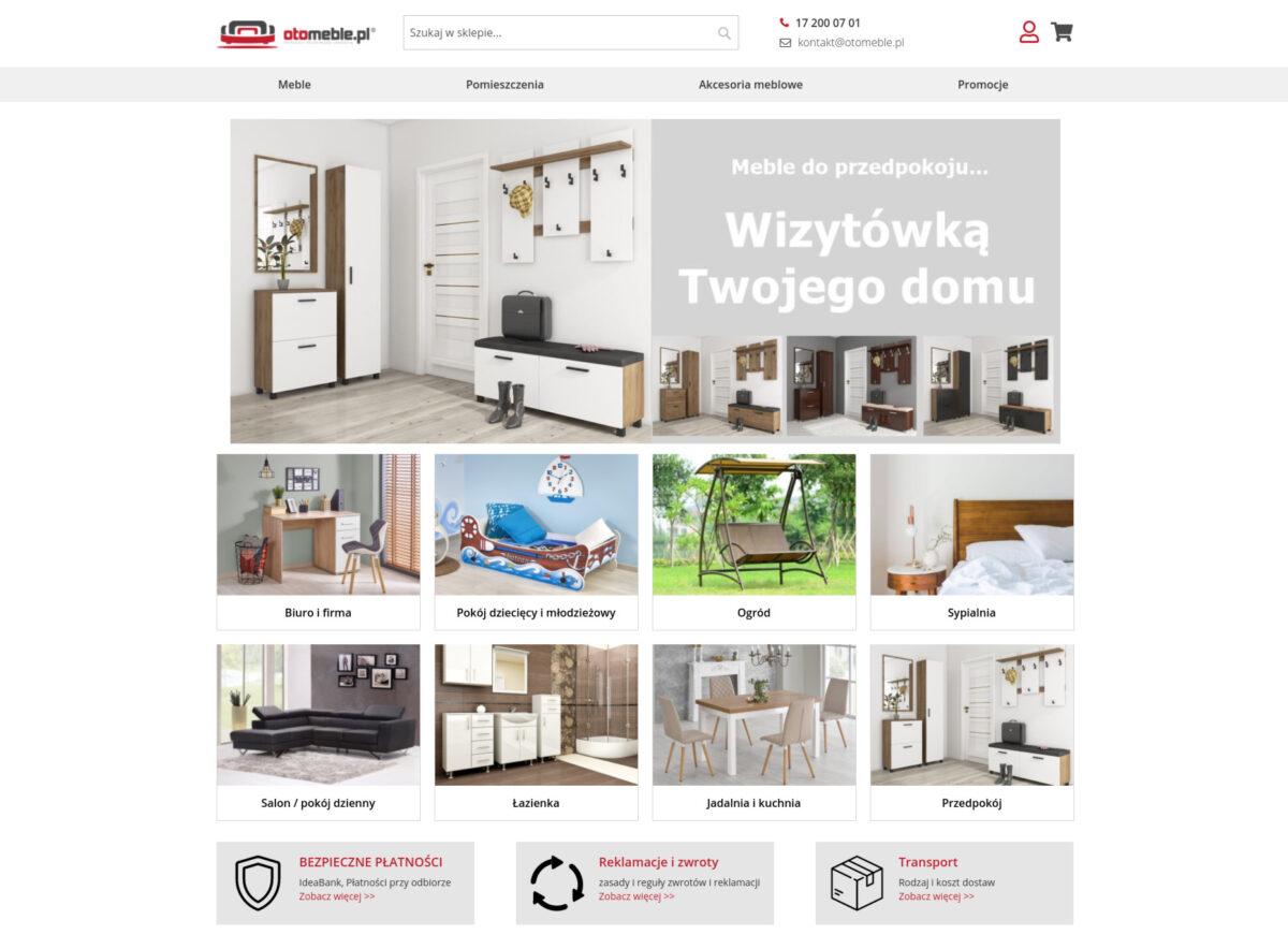otomeble.pl - Sklep internetowy w, którym umeblujesz całe mieszkanie