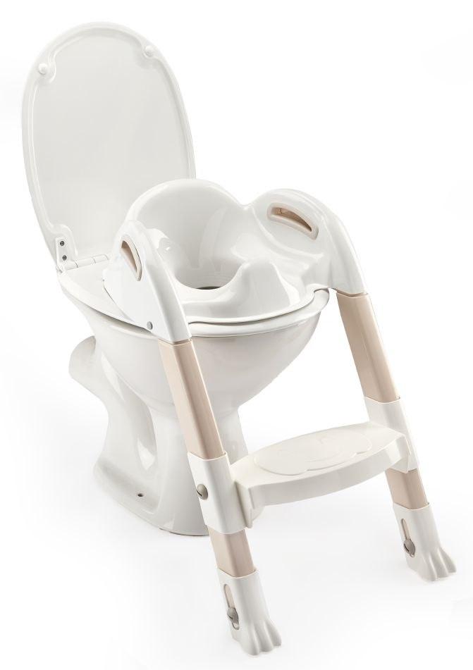 Nakładka na WC ze stopniem THERMOBABY - biały
