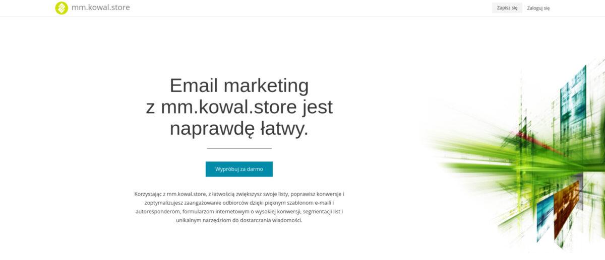 mm.kowal.store stuteczny emial marketing