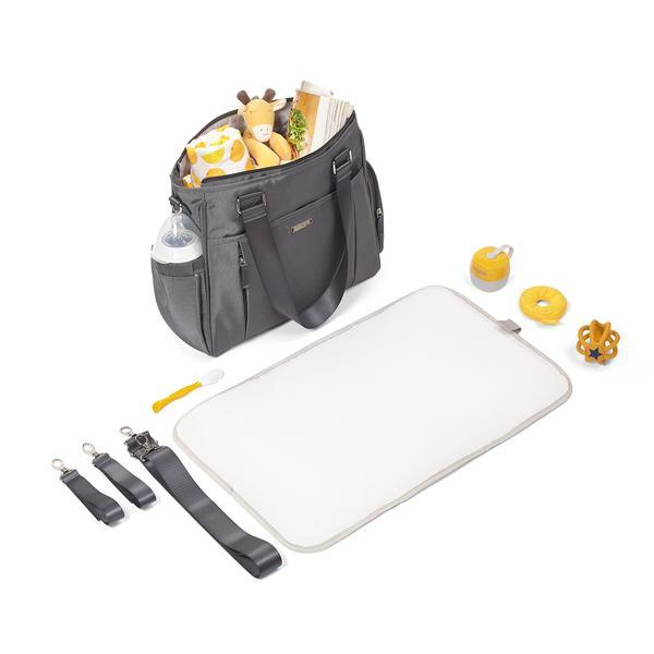 torba dla mamy do wózka Balance grey